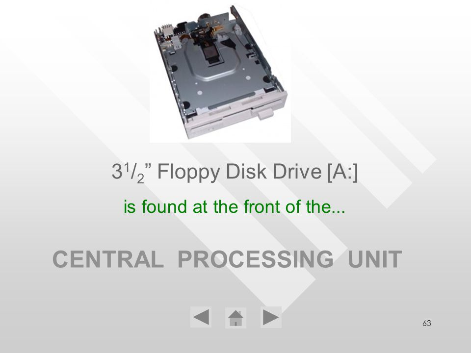 31/2 Floppy Disk Drive [A:]